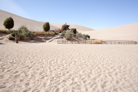 crescent: Dunhuang Crescent Spring