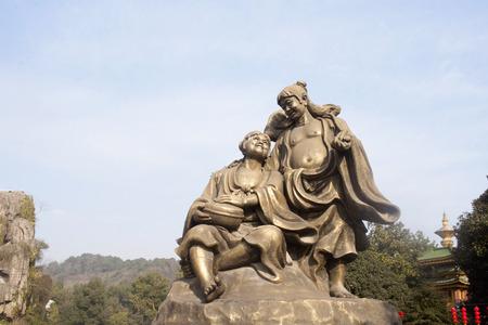 Zhejiang Hangzhou Xiaoshan Orient Culture Park and Erxian statue
