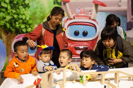 preschoolers in kindergarten Редакционное