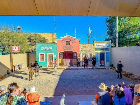 O.K. Corral Gunfight Reenactment - Tombstone, Arizona - Nov 2, 2018