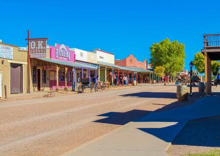 O.K. Corral - Tombstone, Arizona - Nov 2, 2018 Redactioneel
