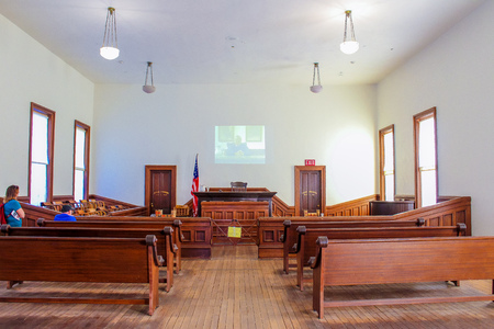Tombstone Courthouse State Park - Tombstone, Arizona - Nov 2, 2018 Éditoriale