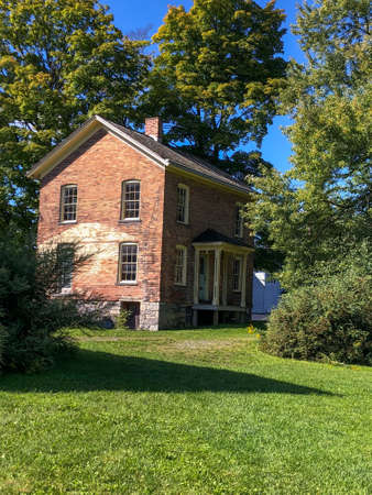 Harriet Tubmans brick home in Auburn NY Editorial