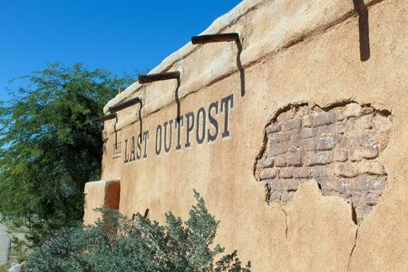 This is the Last Outpost Store located in Tuscon, Arizona