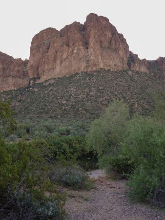 Beautiful cliff view in Tonto National Forest