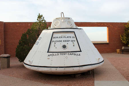 Acutal Apollo Test Capsule located at Meteor Crater National Landmark