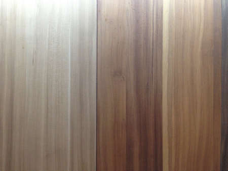 surface: Brown wood surface.