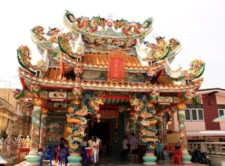 godliness: Chinese temple, Thailand