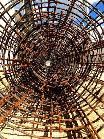 steel wire: Wire or steel wire net roll