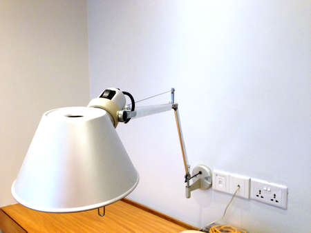 office desk: An office desk lamp Stock Photo