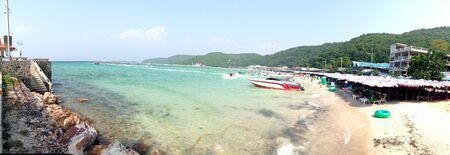 pattaya: beach, Kho Lan Pattaya Editorial