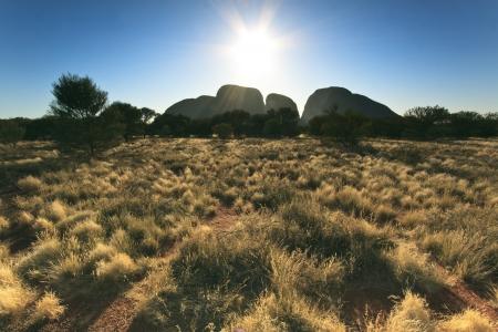 The Olgas or Kata Tjuta, Australia photo