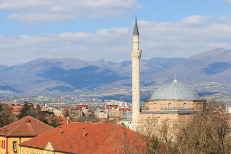 macedonia: Mustafa Pasha mosque, Skopje Macedonia