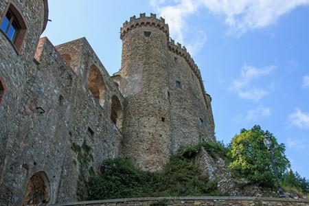 Fosdinovo ancient village near La Spezia Stock fotó