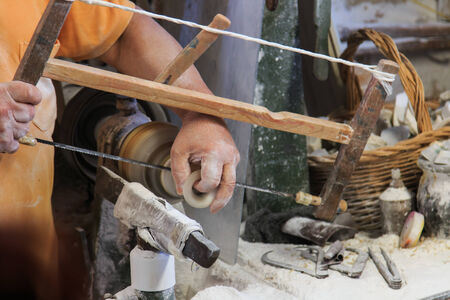 volterra: Italy, Tuscany, Volterra, alabaster handwork
