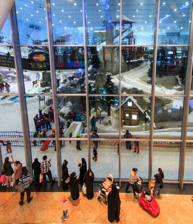 mall of the emirates: Dubai, United Arab Emirates - October 8, 2014: Mall of the Emirates in Dubai, UAE.