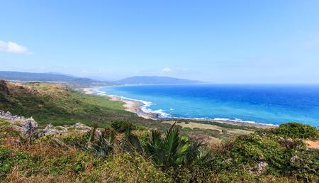 Coastline of Kenting National Park, South Taiwan Reklamní fotografie