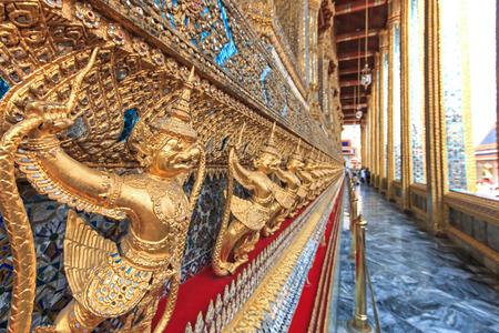 garuda: Garuda Wat Phra Kaew Bangkok Thailand Stock Photo