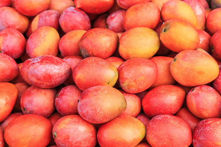 Mangos background Banque d'images