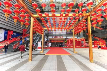 vivo: Shenzhen, China - 18 January, 2016: Main entrance of the HQ mart in Shenzhen