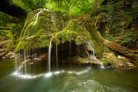 cataracts: Bigar Waterfall Landscape in Romania