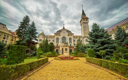 targu mures Town Hall Building.