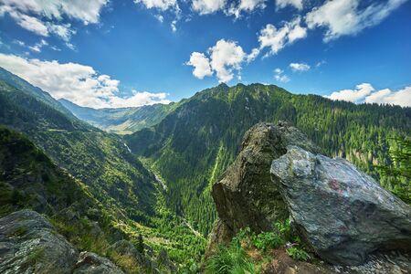 fagaras: Fagaras Mountains Landscape