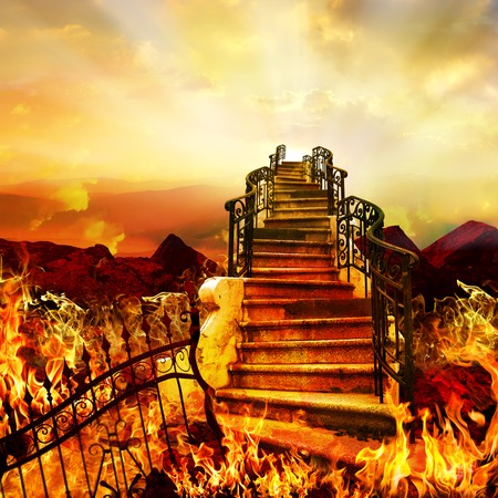 Stairway to Heaven Coming from Hell.
