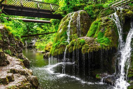 Bigar cascade in Anina, Romania