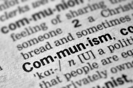 communism: Communism Word Definition Text in Dictionary Page