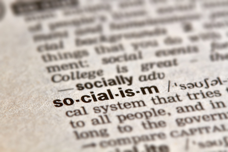 socialism: Socialism Word Definition Text in Dictionary Page