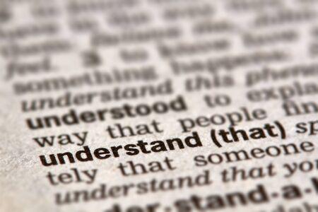 definición: Entender la Palabra Definición de texto en el diccionario página