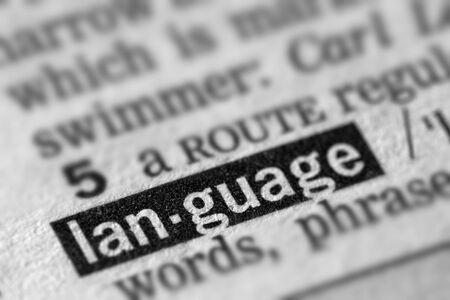 definicion: Lenguaje de definici�n de la palabra en el diccionario de texto P�gina
