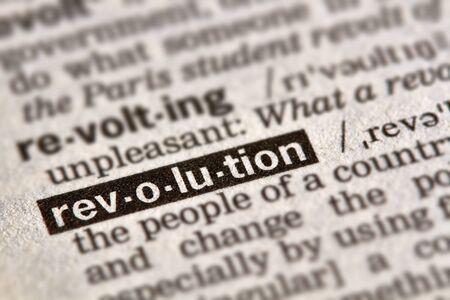 definicion: Revoluci�n palabra en el diccionario la definici�n del texto P�gina