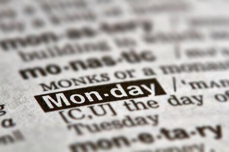 definicion: Lunes palabra en el diccionario la definici�n del texto P�gina