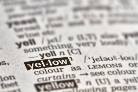 definicion: Amarillo palabra en el diccionario la definici�n del texto P�gina