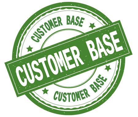 La base de porc , texte écrit sur le vert rond en caoutchouc . vintage style graphique Banque d'images - 90387836