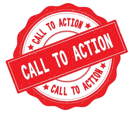 赤、レースの境界線、丸いヴィンテージテクスチャバッジスタンプに書かれたアクションテキストを呼び出します。