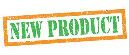 NEW PRODUCT green orange stamp.