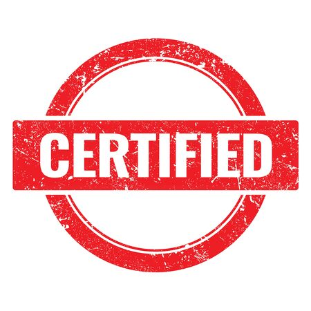 CERTIFIED red round stamp.