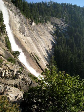 vernal: Vernal Fall  in Yosemite National Park, California, USA