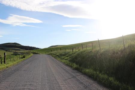Country Road Stock fotó