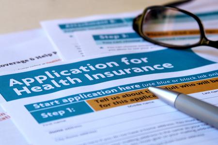 健康保険の申請に関連するドキュメント