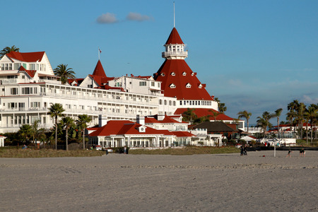 luxury resort hotel del coronado in san diego Editorial