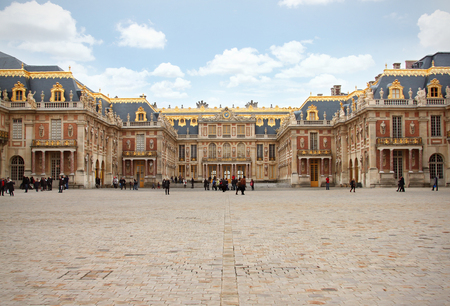 view of versailles palace paris, france