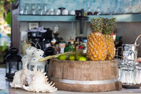 raw material: fruit juice raw material pineapple and lemon