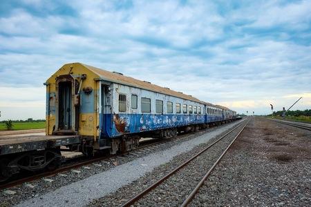 howrah: India train railway Stock Photo