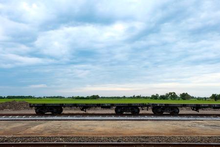 howrah: train trunk on railway Stock Photo