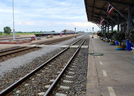 howrah: rail way in Thailand Stock Photo