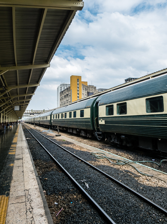 howrah: train on railway